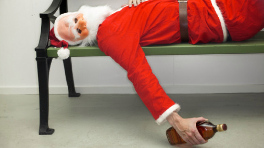 Macy's Fires Another Santa for Drinking on the Job