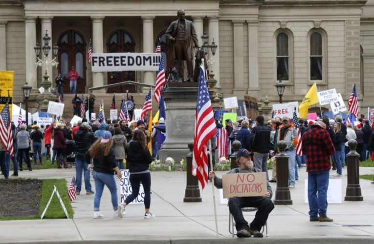 Armed Thugs Close Michigan Legislature, Hooray For Democracy!