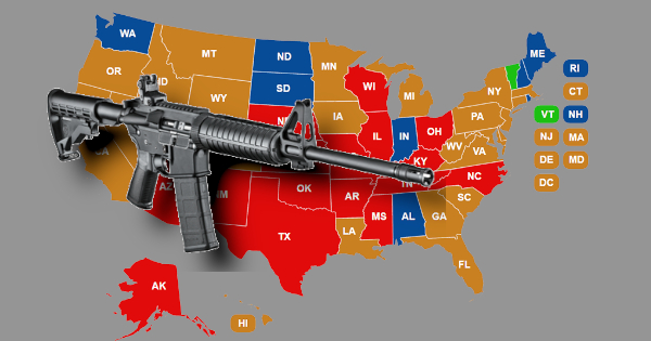 "COVID-19: 16 STATES REPORT AR-15 SHORTAGES AS AMERICANS ""PROTECT THEMSELVES"" FROM PANDEMIC"