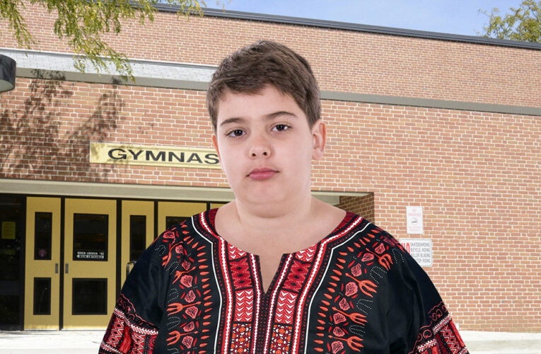 PC Culture Run Amok: This Fat White Boy Was Expelled Just For Getting Fully Nude On The School Bus To Change Into His Dashiki