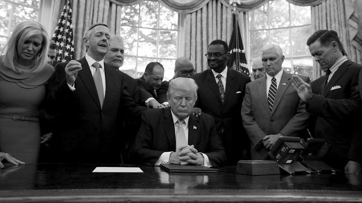 Trump Secretly Mocks His Christian Supporters