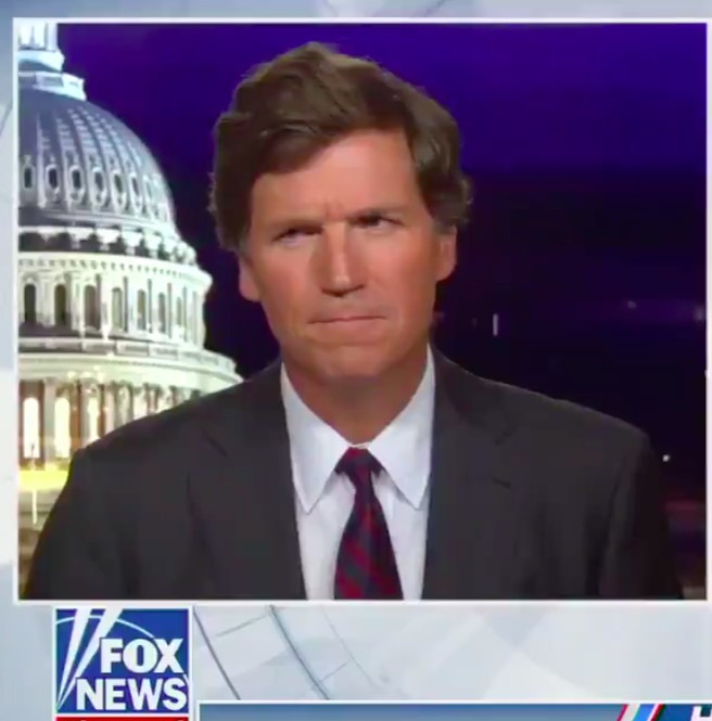 Obsessed Tucker Carlson Calls Jill Biden 'Illiterate' and 'Our National Shame'
