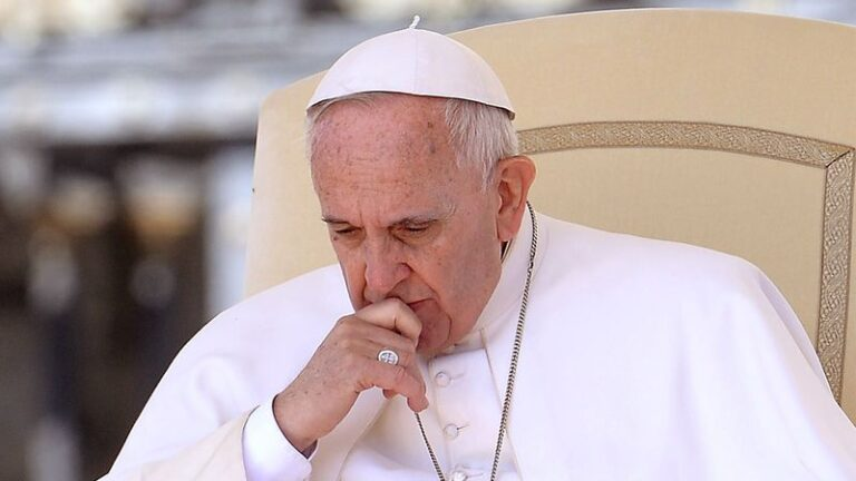 Pope Francis Worried About Job Security After Butting Heads With New God