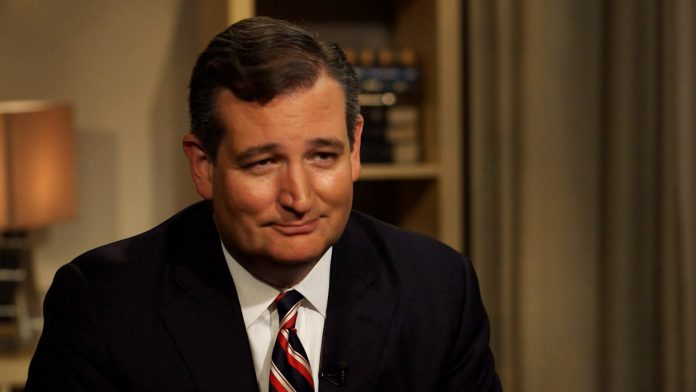 Man Finds Ted Cruz Drowning and Throws Him a Cement Life Preserver