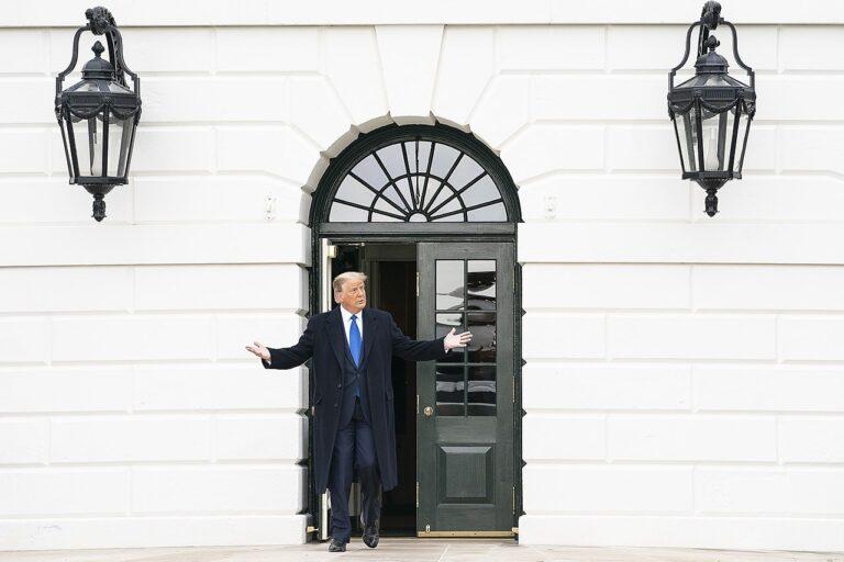 Outgoing President Trump Sues Math