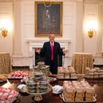 TRUMP LEFT BEHIND UNPAID $1 MILLION MCDONALD'S TAB FOR BIDEN ADMINISTRATION