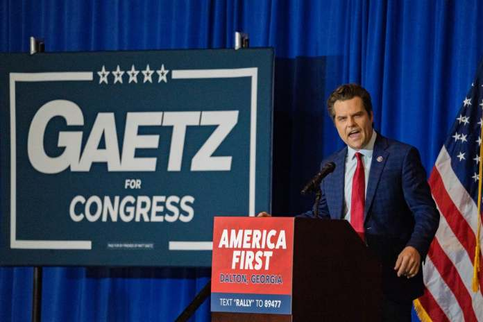 Gaetz Turned Down for High School Softball Coaching Job