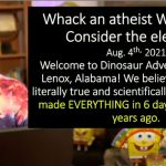 Ex-Con-Creationist Kent Hovind Arrested For 'Bodyslamming' His Wife (For Jesus?)